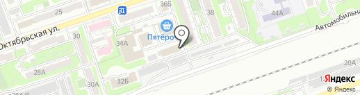 МПТ на карте Дзержинска