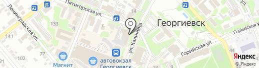 Кадр на карте Георгиевска