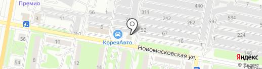 Корея-Авто на карте Дзержинска