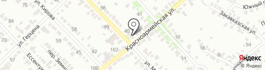 Центр независимых экспертиз на карте Георгиевска