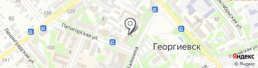 Георгиевская межрайонная прокуратура на карте Георгиевска
