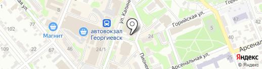 Для милых дам на карте Георгиевска