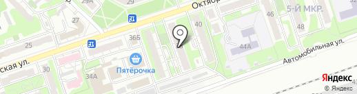 Фаворит на карте Дзержинска
