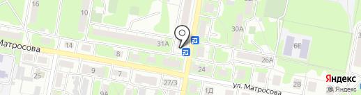 Продовольственный магазин на карте Дзержинска