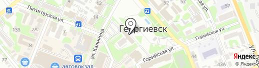Контрольно-счетная палата Георгиевского муниципального района на карте Георгиевска