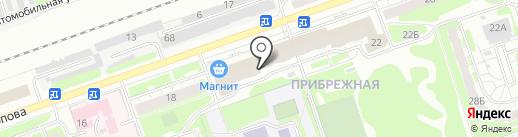 Садовод на карте Дзержинска