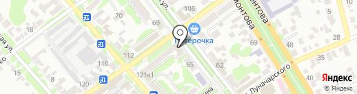 Управление труда и социальной защиты населения на карте Георгиевска