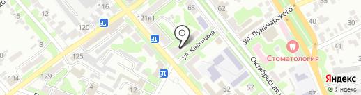 Аптека №21 на карте Георгиевска
