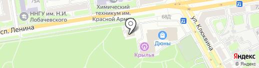 Bar52 на карте Дзержинска