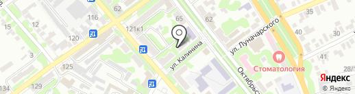 Адвокат Константинова Л.Р. на карте Георгиевска