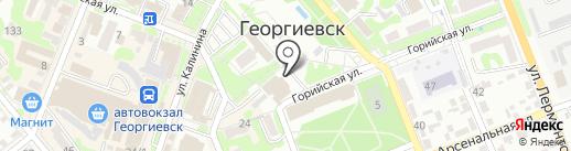 Любимый дом на карте Георгиевска