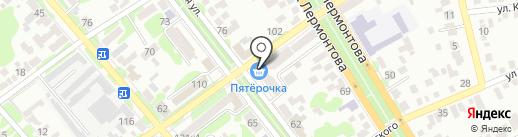 Вершина на карте Георгиевска