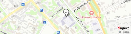 Радуга на карте Георгиевска