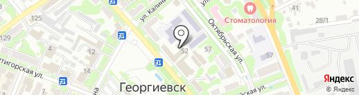 Блокпост на карте Георгиевска