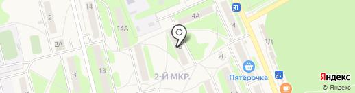 Городская библиотека №1 на карте Богородска