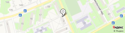Алешково на карте Богородска