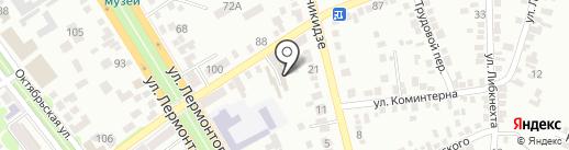 Спутник на карте Георгиевска
