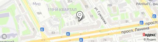 Lambre на карте Дзержинска