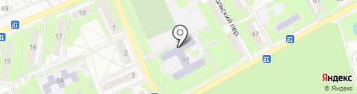 Школа №6 на карте Богородска