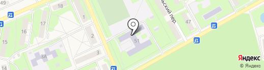 Средняя общеобразовательная школа №6 на карте Богородска