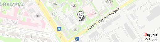 Акрилхимпроект на карте Дзержинска