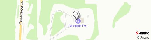 АГНКС на карте Дзержинска