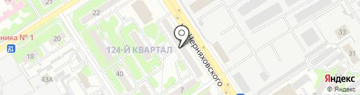 АвиаЛот на карте Дзержинска
