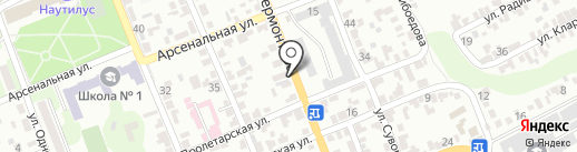Марк на карте Георгиевска