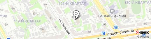 Управление Федеральной службы РФ по контролю за оборотом наркотиков по Нижегородской области на карте Дзержинска