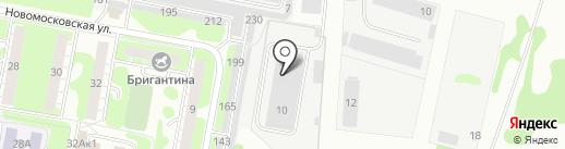 Ларнета на карте Дзержинска
