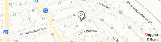 Элита на карте Георгиевска