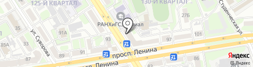 Максавит на карте Дзержинска