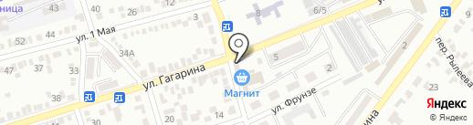 Единство на карте Георгиевска
