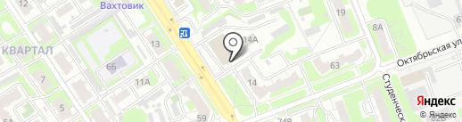 Отдел ГИБДД на карте Дзержинска