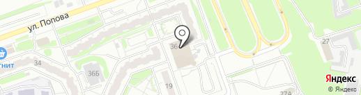 Гранд Плаза на карте Дзержинска
