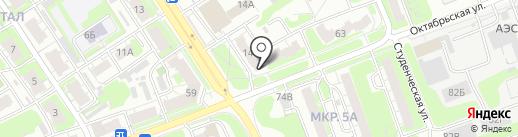 Дикс на карте Дзержинска
