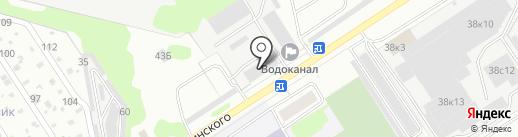 ДВК на карте Дзержинска