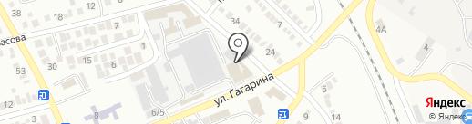 Пик Суши на карте Георгиевска