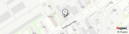 ПМК 169 на карте Дзержинска