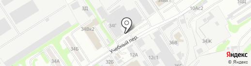 Полимер на карте Дзержинска