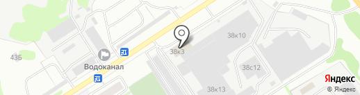 ТИКО-Пластик на карте Дзержинска