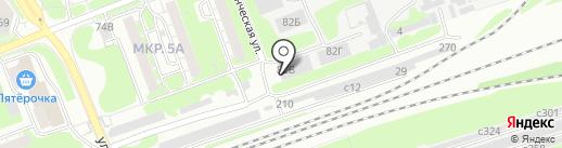 ЭкоРусВторма на карте Дзержинска