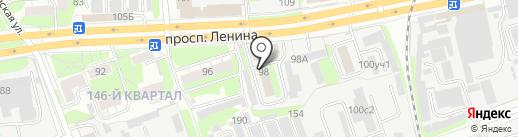 МРСК Центра и Приволжья, ПАО на карте Дзержинска