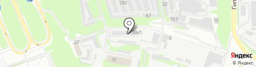 Комбат на карте Дзержинска