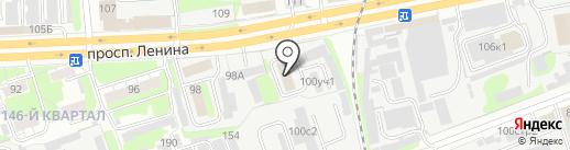 Телематика на карте Дзержинска