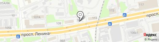 Ассоциация производителей силикатных изделий, НП на карте Дзержинска