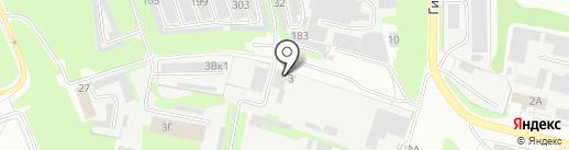 Пирс, ЗАО на карте Дзержинска
