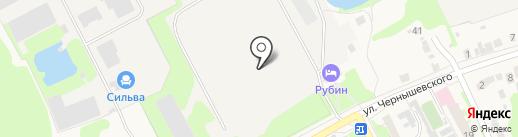 Нижегородский завод по переработке РТИ на карте Богородска