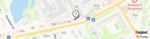 Богородский кожевенный завод им. А.Ю. Юргенса на карте Богородска