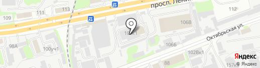 Пищехимпродукт на карте Дзержинска